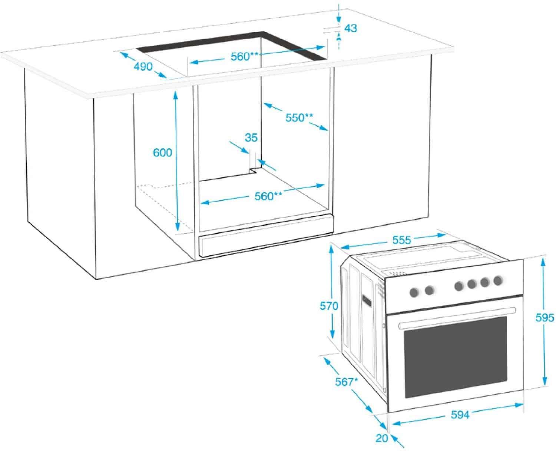 beko oim 22301 x einbau backofen1 ratgeber back fen. Black Bedroom Furniture Sets. Home Design Ideas