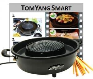 Elektrischer Thai Grill und Hot Pot im Detail-Check