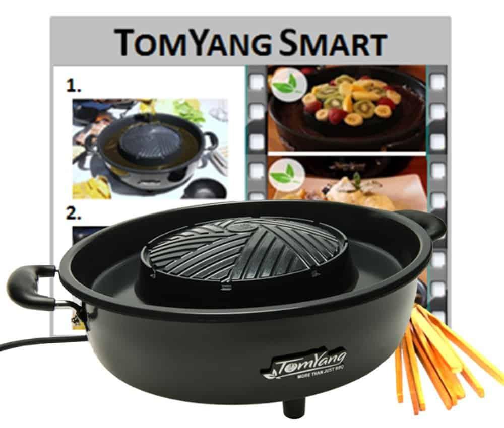 elektrischer thai grill und hot pot top kundenbewertung. Black Bedroom Furniture Sets. Home Design Ideas