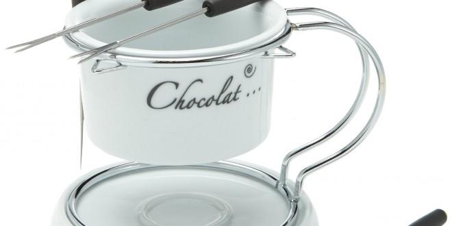 schokoladen fondue set top kundenbewertung. Black Bedroom Furniture Sets. Home Design Ideas