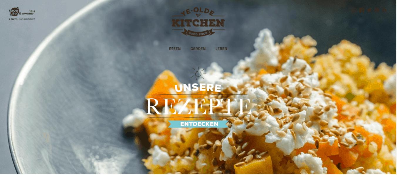 """Top Back Blogs: """"Saisonal Kochen und Backen - schnell und unkompliziert"""" - Interview mit Eva und Philipp von yeoldekitchen.com"""