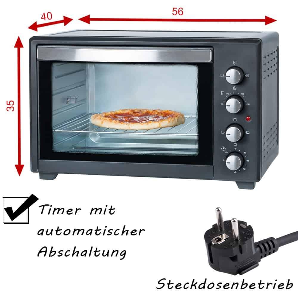 tzs first austria 2000 watt mini backofen3 ratgeber. Black Bedroom Furniture Sets. Home Design Ideas