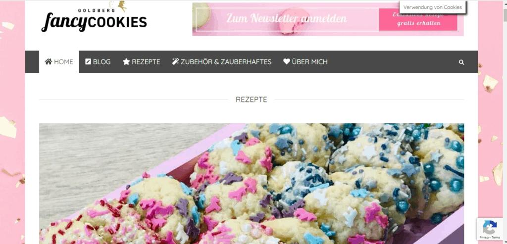 """Top Back Blogs: """"Die ganze Welt der Kekse, Cookies und Co."""" - Interview mit Isabell Goldberg von goldbergfancycookies.com"""