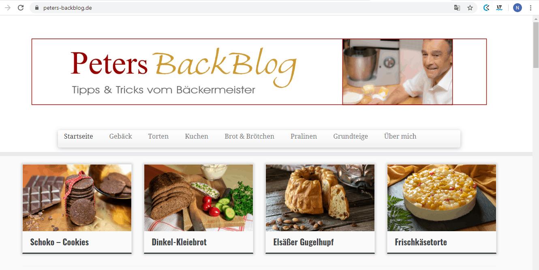 """Top Back Blogs: """"Backen macht glücklich!"""" - Interview mit Peter Lohrer von peters-backblog.de"""